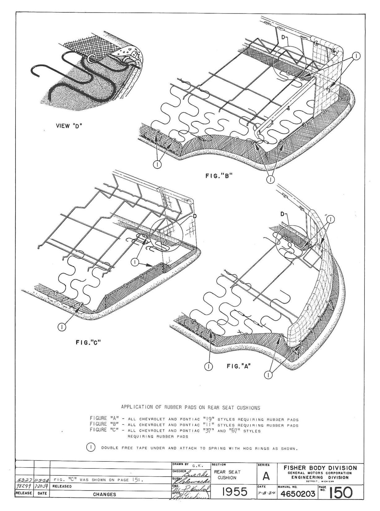 trifivechevys com  1955 chevy trim instructions manual